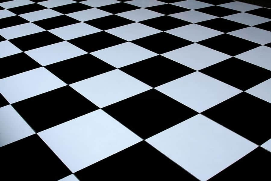 Checkered Victorian Tiling