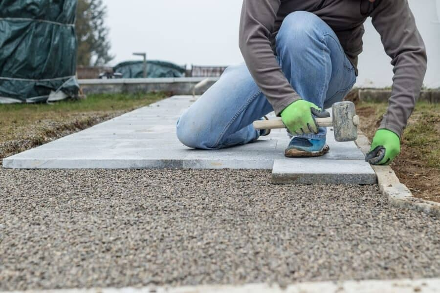 Brick Tiling Outdoor Services in Derby