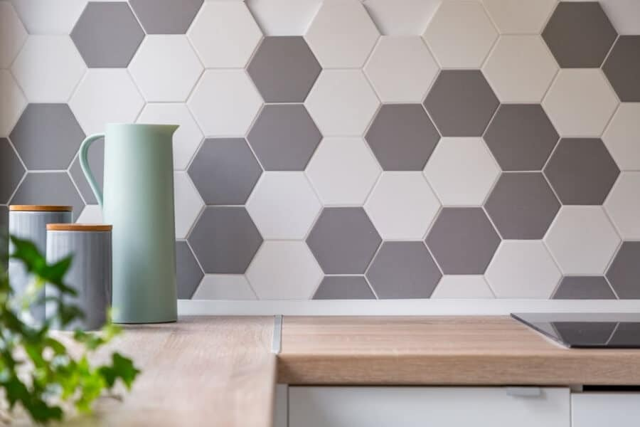 Honeycomb Pattern Tiling in Derby